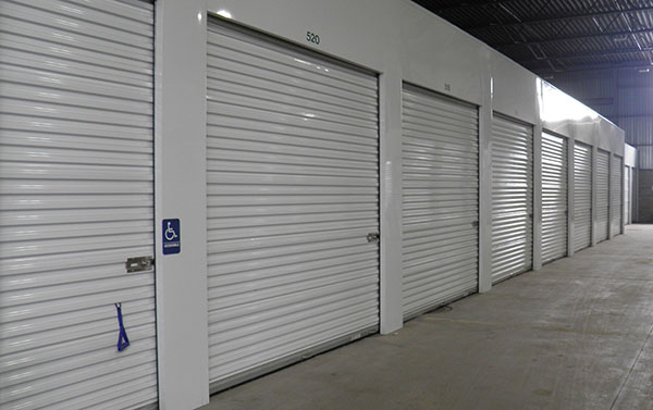 multiple size storage units
